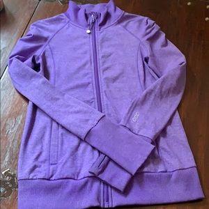 Lorna Jane Brushed Athletic Jacket, MED